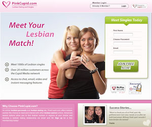 PinkCupid.com has features that allow you to do a complete profile that will help you find the perfect mate.